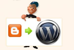 Blogspot to WordPress MIgration service