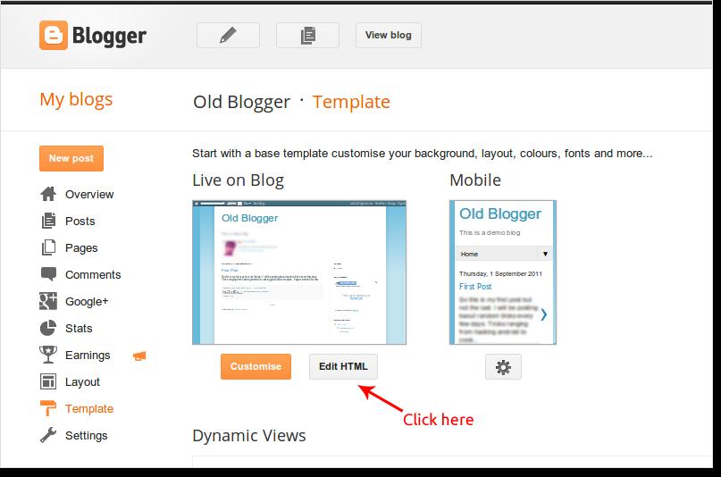 B2W-HTML-Edit-Blogger