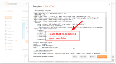 B2W-HTML-Paste-Blogger